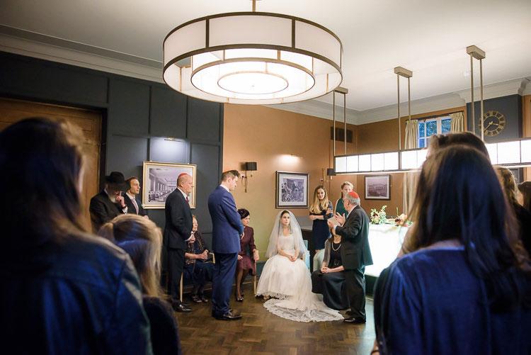 Jewish Wedding Hackney Hall St Pancras Renaissance London Hotel UK_0397