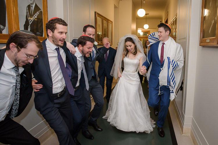 Jewish Wedding Hackney Hall St Pancras Renaissance London Hotel UK_0557