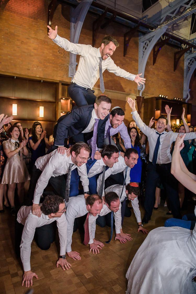 Jewish Wedding Hackney Hall St Pancras Renaissance London Hotel UK_0835