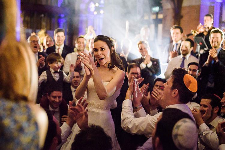Jewish Wedding Hackney Hall St Pancras Renaissance London Hotel UK_0838