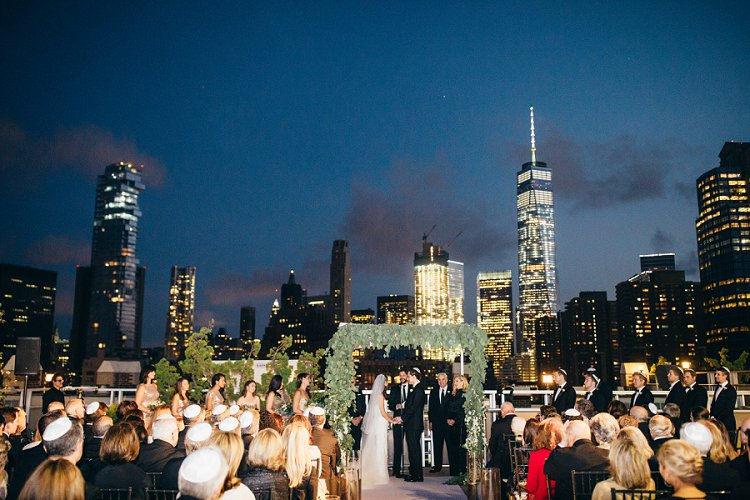 Jewish Wedding Tribeca Rooftop NYC New York USA_0066