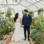 A Jewish Wedding with a Palm Leaf Theme at Beth Emeth Synagogue, Toronto Ontario, Canada