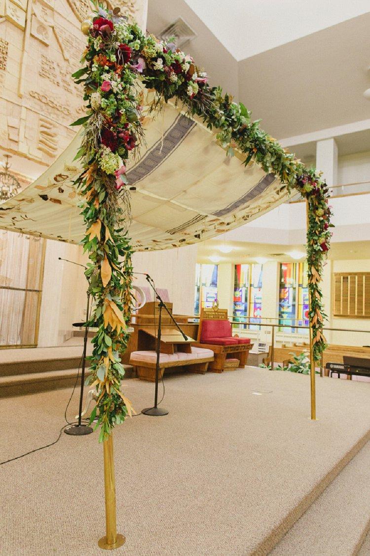 Jewish Wedding Beth Emeth Synagogue Toronto Ontario Canada_0018