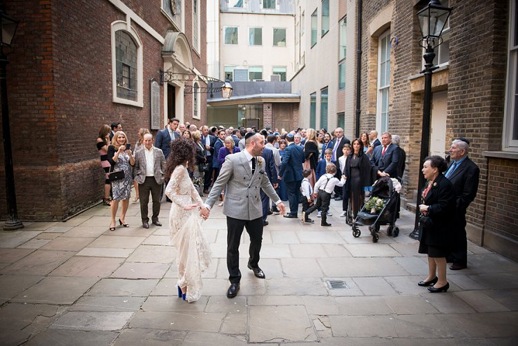 Jewish Wedding Bevis Marks Synagogue Devonshire Terrace London UK