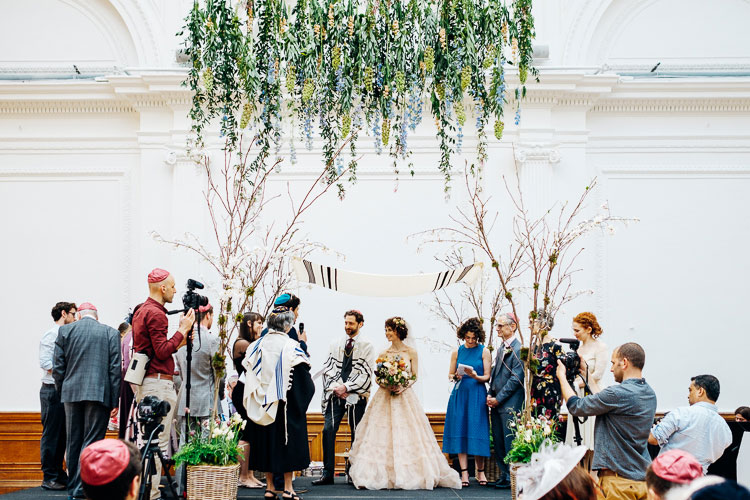 Jewish Wedding Royal Horticultural Halls in London UK-18