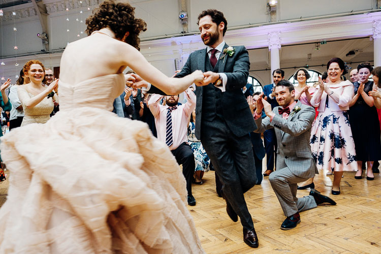 Jewish Wedding Royal Horticultural Halls in London UK-40