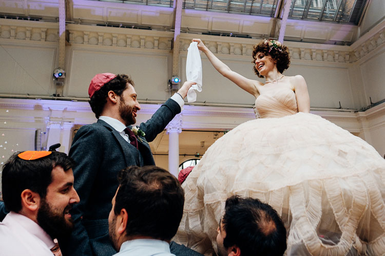 Jewish Wedding Royal Horticultural Halls in London UK-42