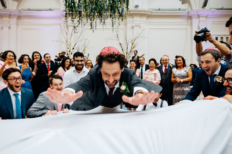 Jewish Wedding Royal Horticultural Halls in London UK-44