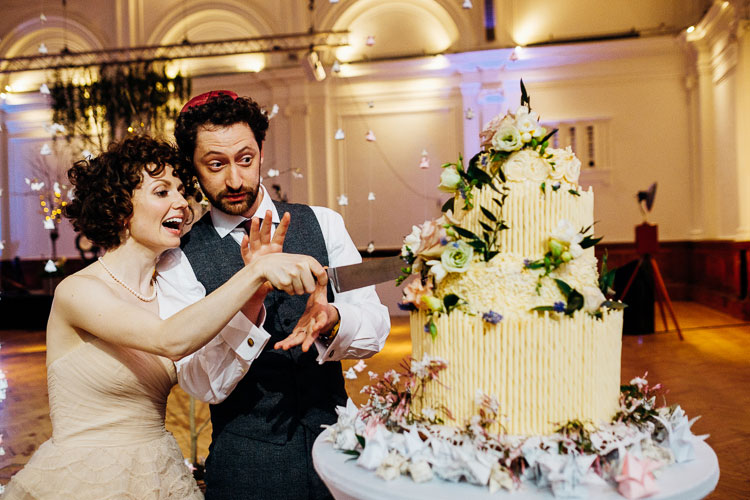 Jewish Wedding Royal Horticultural Halls in London UK-62