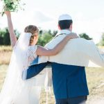 A Nicole Miller Bride for a rustic, outdoor Jewish wedding at Shady Lane​ Farm, Maine, USA