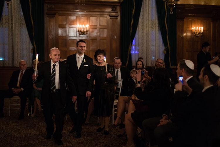 Jewish Wedding The Fort Garry Hotel Winnipeg Canada-0518