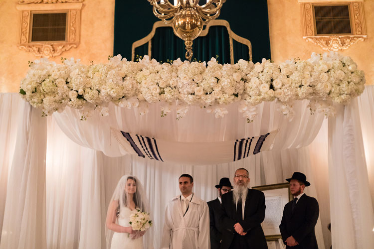 Jewish Wedding The Fort Garry Hotel Winnipeg Canada-0578