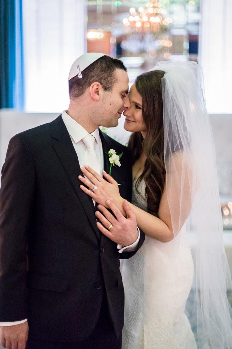 Jewish Wedding The Fort Garry Hotel Winnipeg Canada--15