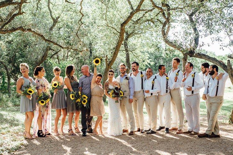 Jewish Wedding The Wildflower Barn Driftwood Texas USA_0027