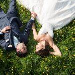 An Outdoor Jewish Wedding in the Bride's Parents' Garden, in Northamptonshire, UK