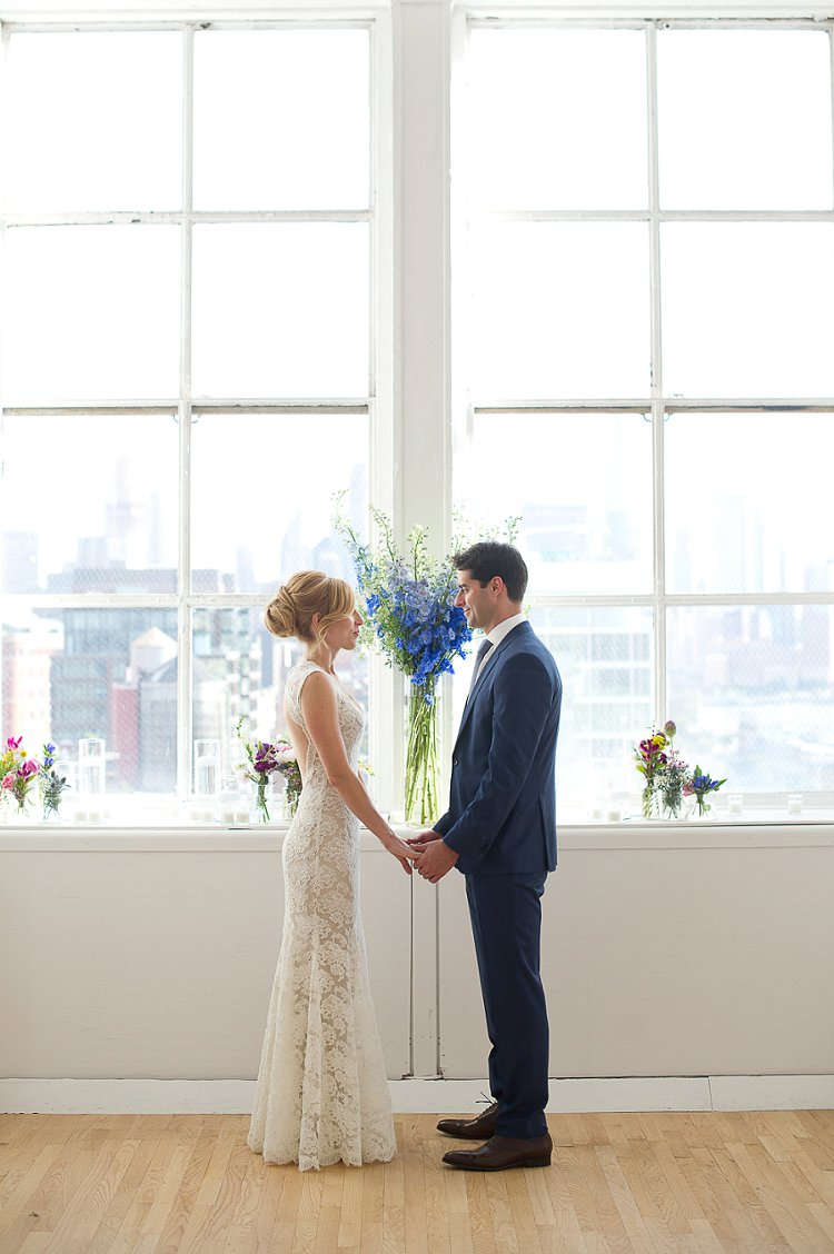 Jewish Wedding Manhattan New York City The Rooftop Of Ramscale Studios Usa 0004