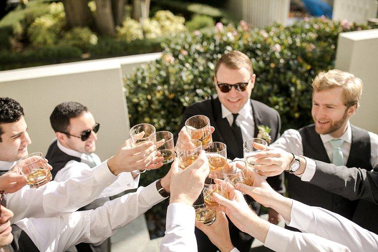 Jewish WeddingThe Fairmont Miramar Santa Monica California USA_0011