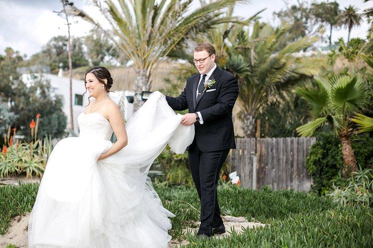 Jewish WeddingThe Fairmont Miramar Santa Monica California USA_0026