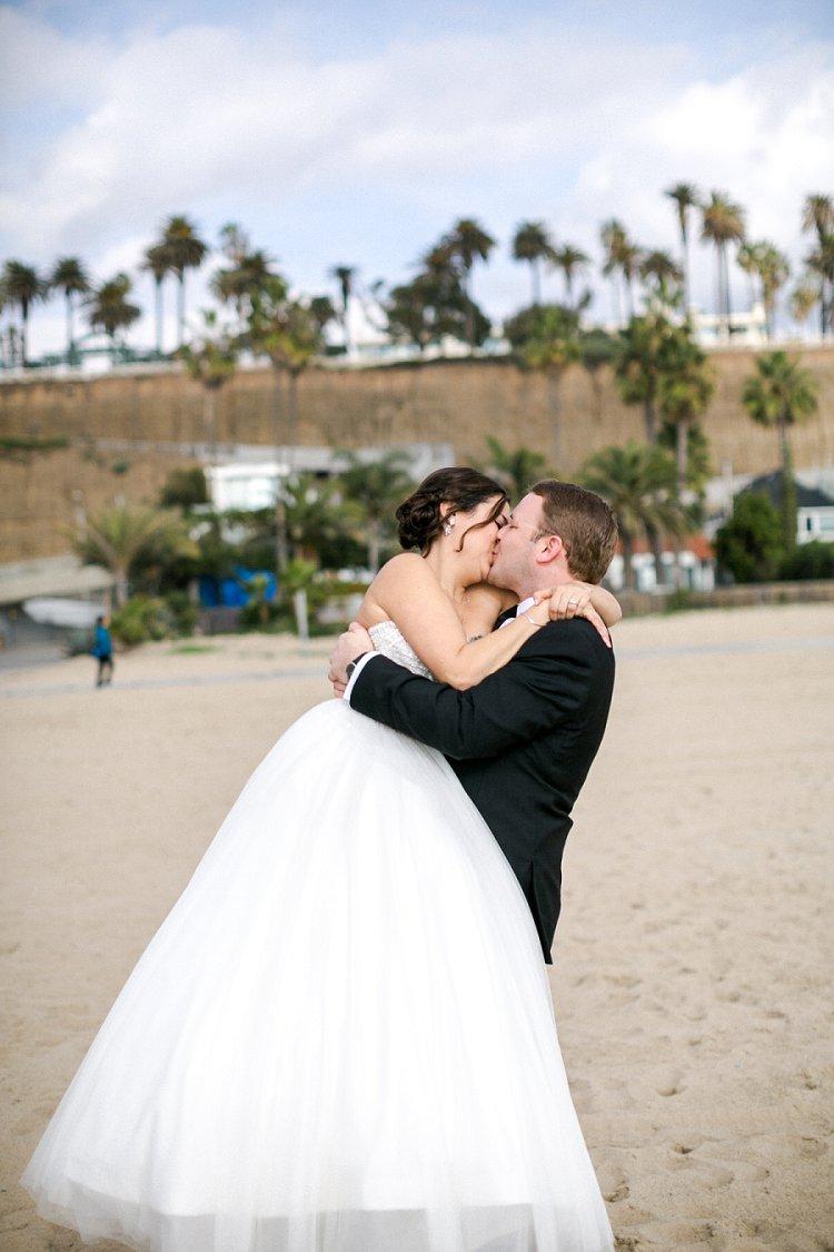Jewish WeddingThe Fairmont Miramar Santa Monica California USA_0027