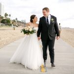 An Equality-Driven Jewish Beach Wedding at The Fairmont Miramar, Santa Monica, California, USA