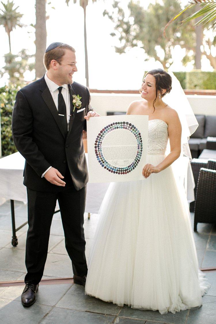 Jewish WeddingThe Fairmont Miramar Santa Monica California USA_0062