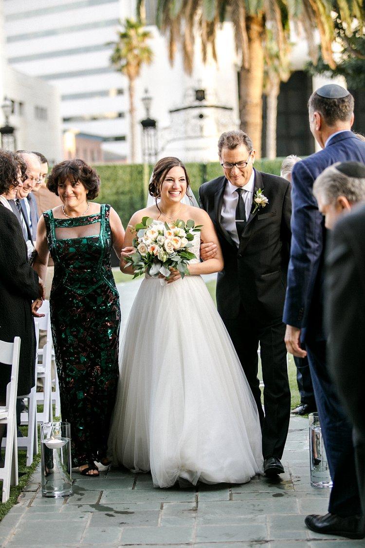 Jewish WeddingThe Fairmont Miramar Santa Monica California USA_0066