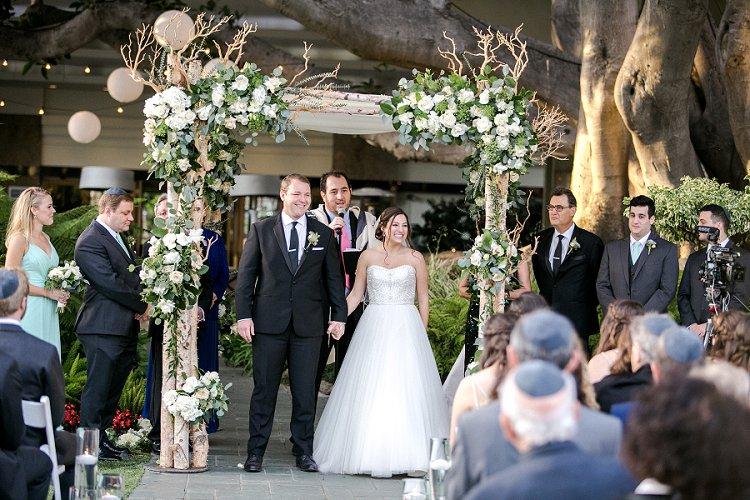 Jewish WeddingThe Fairmont Miramar Santa Monica California USA_0068