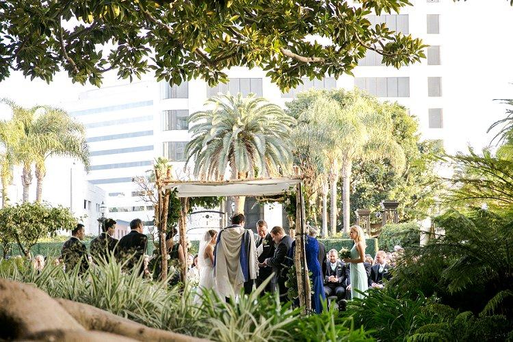 Jewish WeddingThe Fairmont Miramar Santa Monica California USA_0069