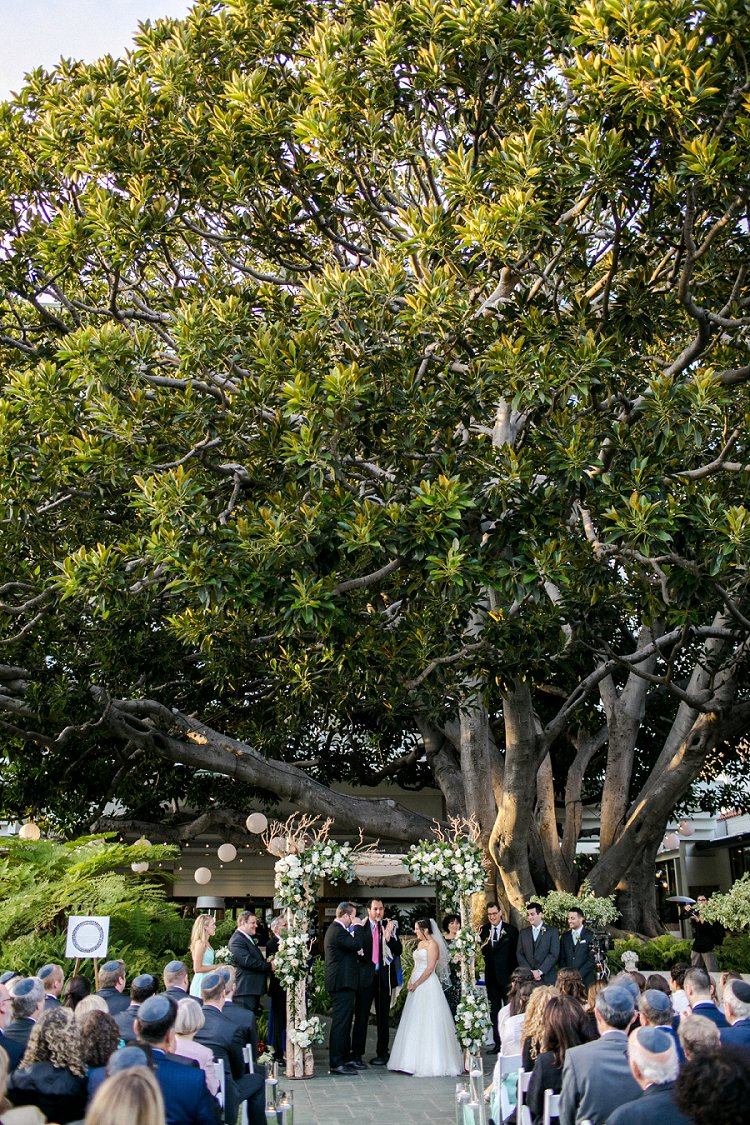 Jewish WeddingThe Fairmont Miramar Santa Monica California USA_0070