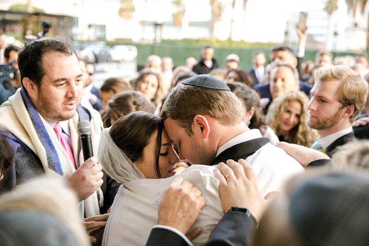 Jewish WeddingThe Fairmont Miramar Santa Monica California USA_0071
