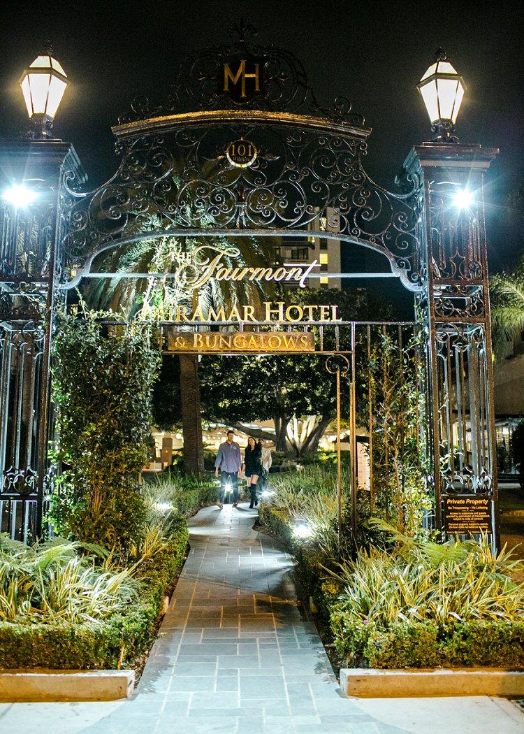 Jewish WeddingThe Fairmont Miramar Santa Monica California USA_0079