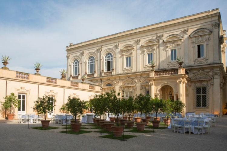 Destination Jewish Wedding Villa Aurelia Rome Italy