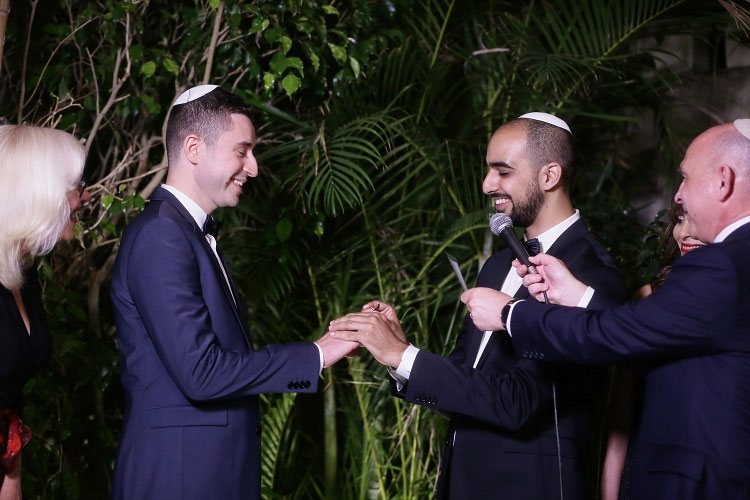 Gay Jewish Wedding Israel