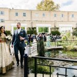 A Jewish-Indian Wedding with an 'East Meets West' theme at Sopwell House, St Albans, UK