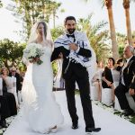 A Destination Jewish Wedding with a Beach Chuppah and Midnight Fire Dancers at Kempinski Hotel, Marbella, Spain