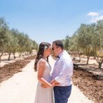 An Avital Saporta Bride for a Summer-Themed Galilee Jewish Secular Wedding at Halomot Naftali Hotel, Sde Eliezer, Israel
