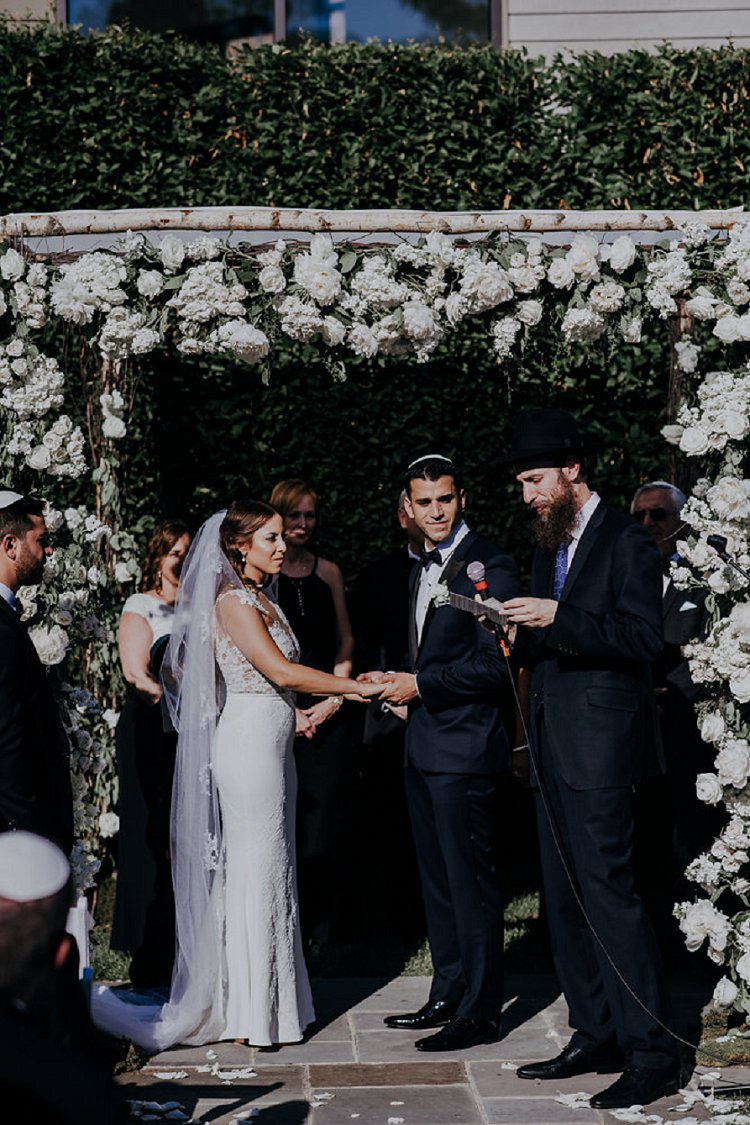 Jewish wedding The Roundhouse, Beacon, New York, USA