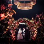 A Suzanne Neville Bride for a Stunning Midsummer Night's Dream Jewish Wedding at St Pancras Renaissance Hotel, London, UK