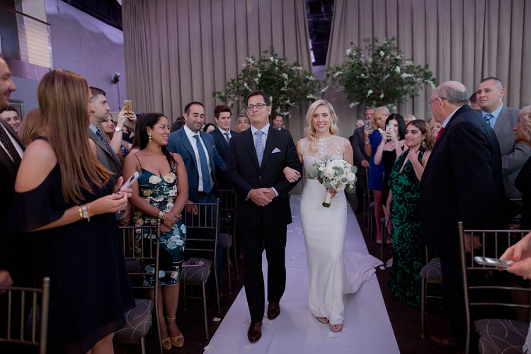 Jewish wedding at Current at Chelsea Piers, New York City, USA