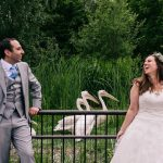A Jewish-French-Greek-British Animal-Filled Wedding at London Zoo, London, UK