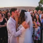A Meital Zano Bride for a Galilee Summer Camp-Themed Jewish Wedding at Ramot Resort, Israel