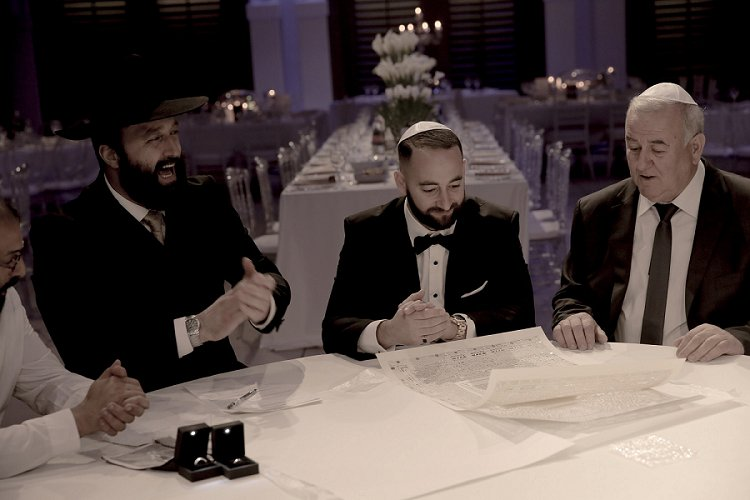 Jewish wedding at Avenue, Tel Aviv, Israel