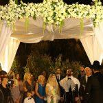 A Mikaella Bridal Bride for a Jewish Persian American Spring-Themed Wedding at Avenue, Tel Aviv, Israel