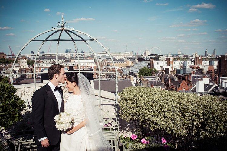 An Oscar de la Renta Bride for a Super Luxe Italian Garden-Themed ...