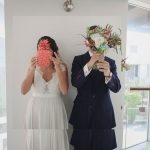 A Tropical-Themed Israeli-Canadian Jewish Wedding at The Q, Kibbutz Glil Yam, Israel