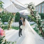 An Alon Livné Bride for a Super Luxe Boho Beautiful Jewish Wedding at Four Seasons Westlake Village, California, USA