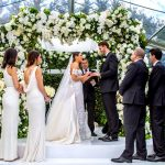A Super Luxe Floral Jewish Wedding in the Bride's Parents' Garden at Toorak, Melbourne, Australia