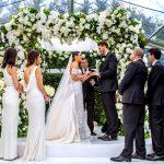 A Super Luxe Floral Jewish Wedding in the Bride's Parents' Garden at Toorak, Melbourne, Australia