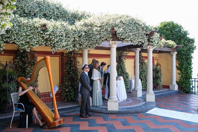 Destination Jewish wedding Grand Hotel Royal, Sorrento, Italy_0039