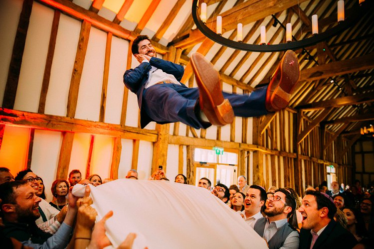 Jewish Wedding Micklefield Hall, UK